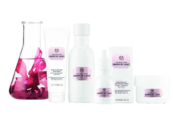 The Body Shop Drops of Light Collection