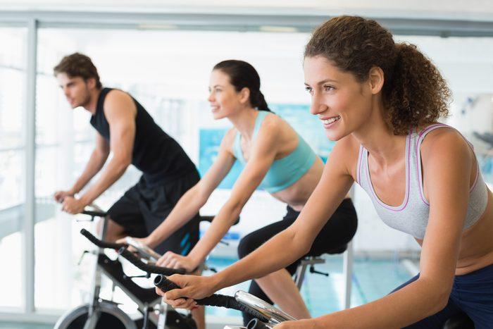 Workout-Cycling-Class