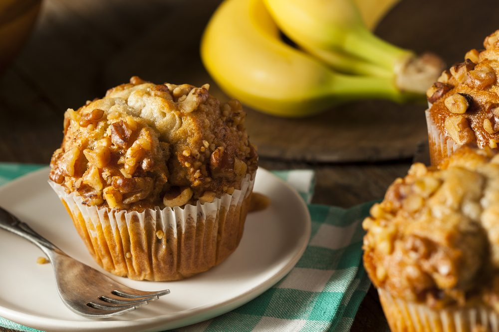 quick and easy breakfast ideas | healthy breakfast | nut and jam muffins