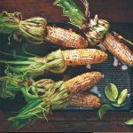 Grilled Sweet Corn with Lime and Chili