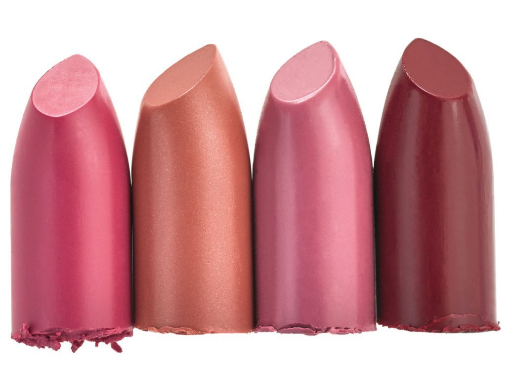 Burt's Bees 100% Natural Lipsticks in Fuchsia Flood, Nile Nude, Tulip Tide and Ruby Ripple