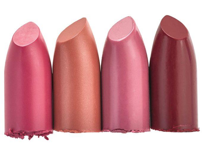 Burt's Bees 100% Natural Lipsticks in Fuchsia Flood, Nile Nude, Tulip Tide and Ruby Ripple