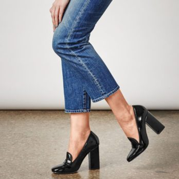 7 Rules for Wearing Heels with Jeans