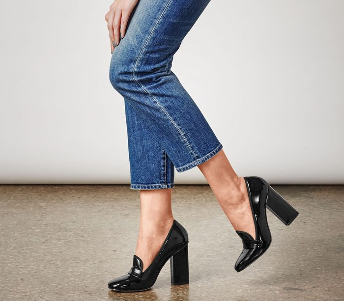 straight leg denim