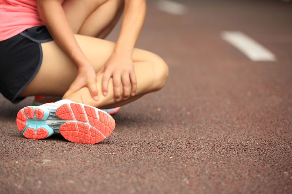 dehydrated muscle cramps