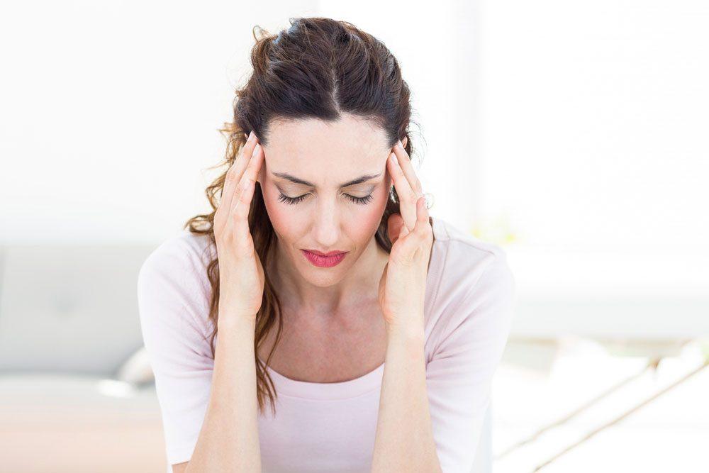 dehydrated headache