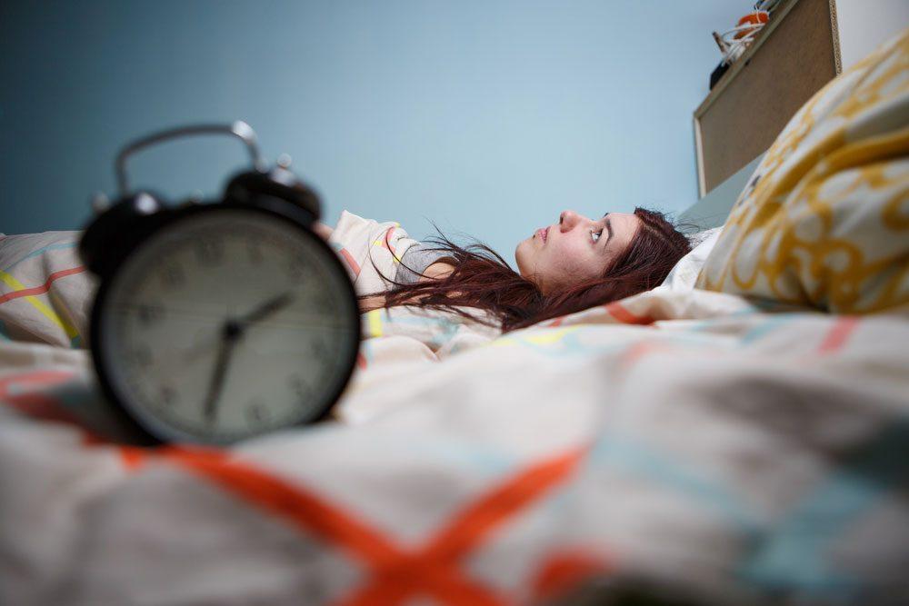 dehydrated insomnia