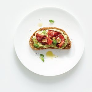High-Protein Avocado Smash Toast 