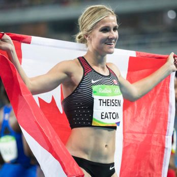 Brianne Theisen-Eaton on Winning the Bronze in Heptathlon