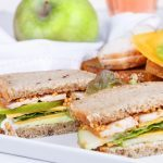Turkey, Brie and Apple Sandwich on Raisin-Walnut Bread