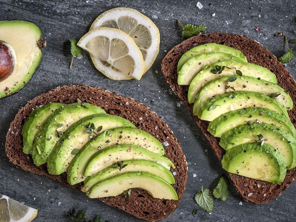 Avocado, toast