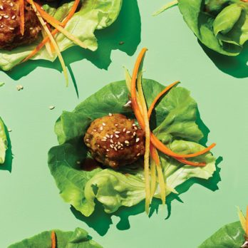 Ginger Sesame Chicken Meatballs