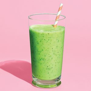 Matcha, Kiwi and Kale Power Smoothie