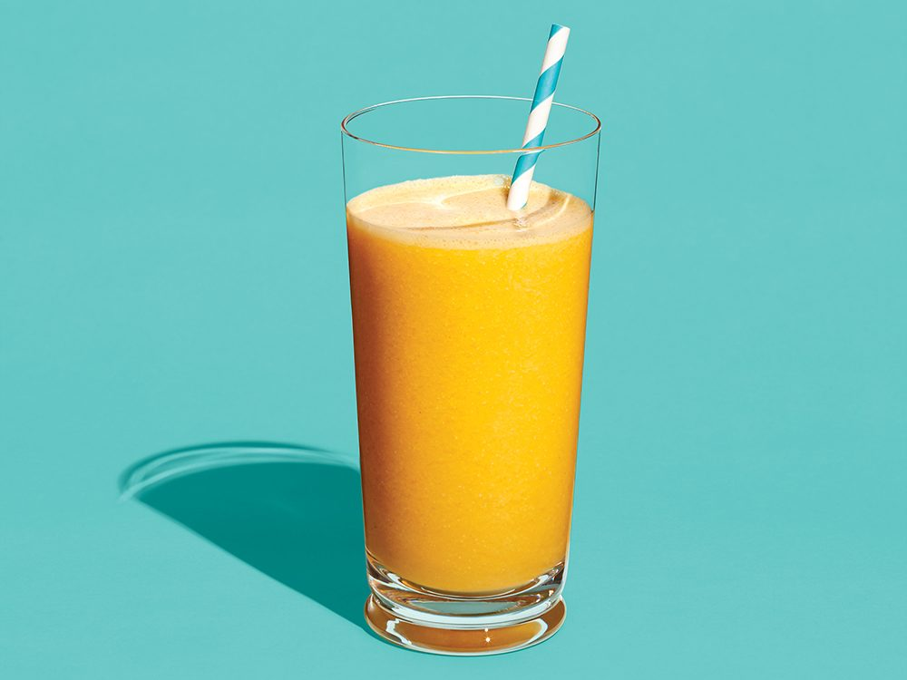 Immunity-Boosting Cantalopue Smoothie