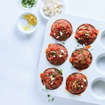 Greek Meatloaf Muffins
