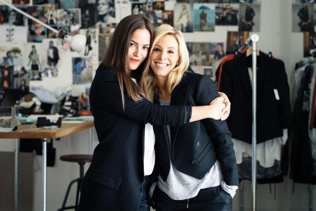 Christie Smythe (left) and Andrea Lenczner