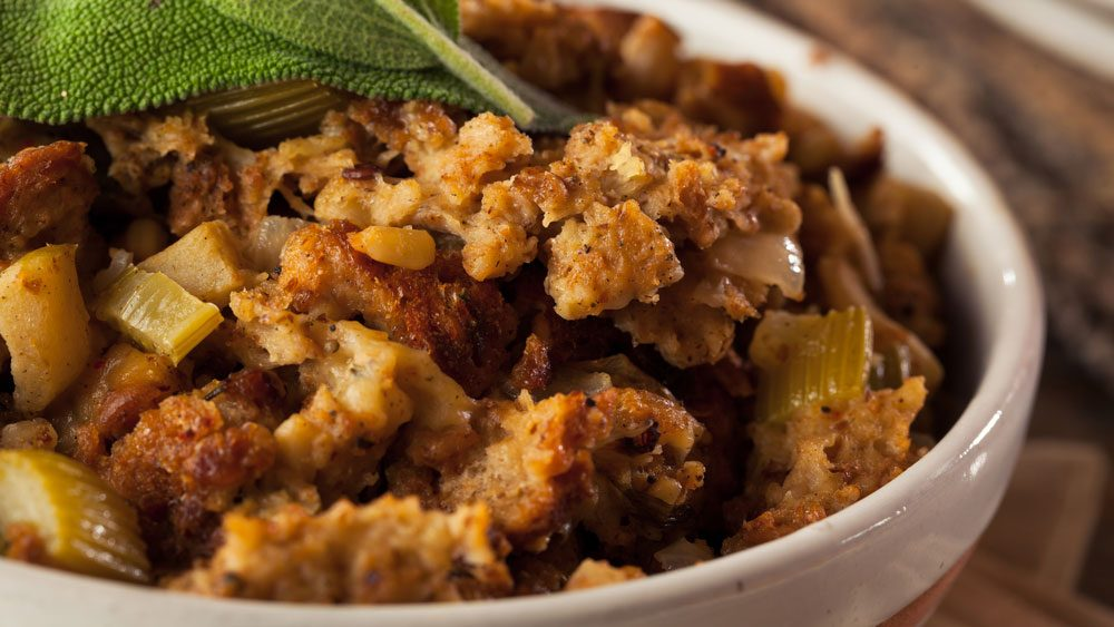 how to make crispy stuffing