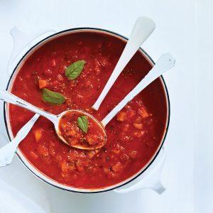 Super Simple Slow Cooker Tomato Sauce