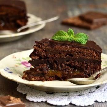 Heavenly Rich Dark Chocolate Torte