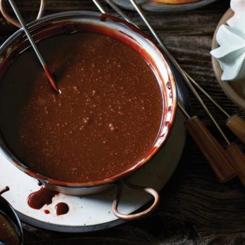 Chocolate Hazelnut Fondue