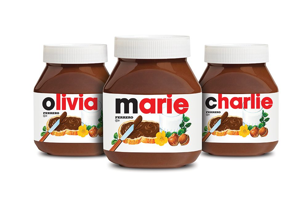 Personalized-Nutella-