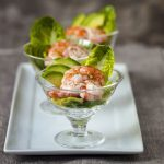 Avocado and Shrimp Appetizer Parfait