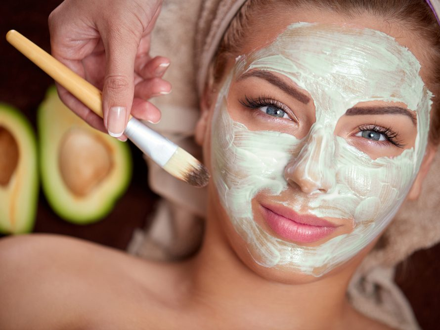 stay healthy during the holidays - face mask