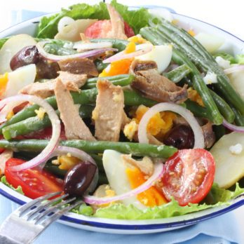 Niçoise Salad with Baby Potatoes