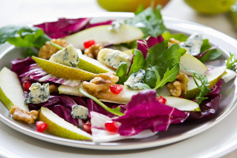 Roquefort and Pear Salad