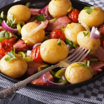 Warm Potato and Artichoke Salad
