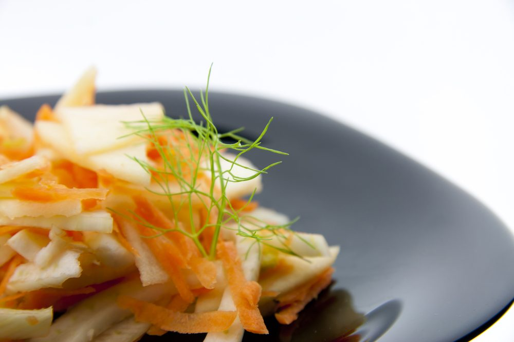 Apple and Fennel Salad with Blue Cheese Dressing