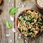 Minted Barley and Bean Salad