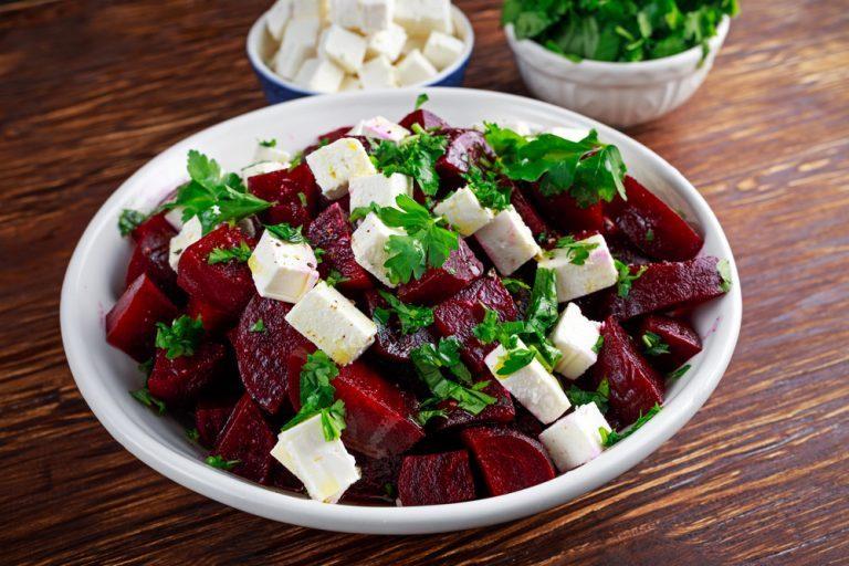 beet salad with feta