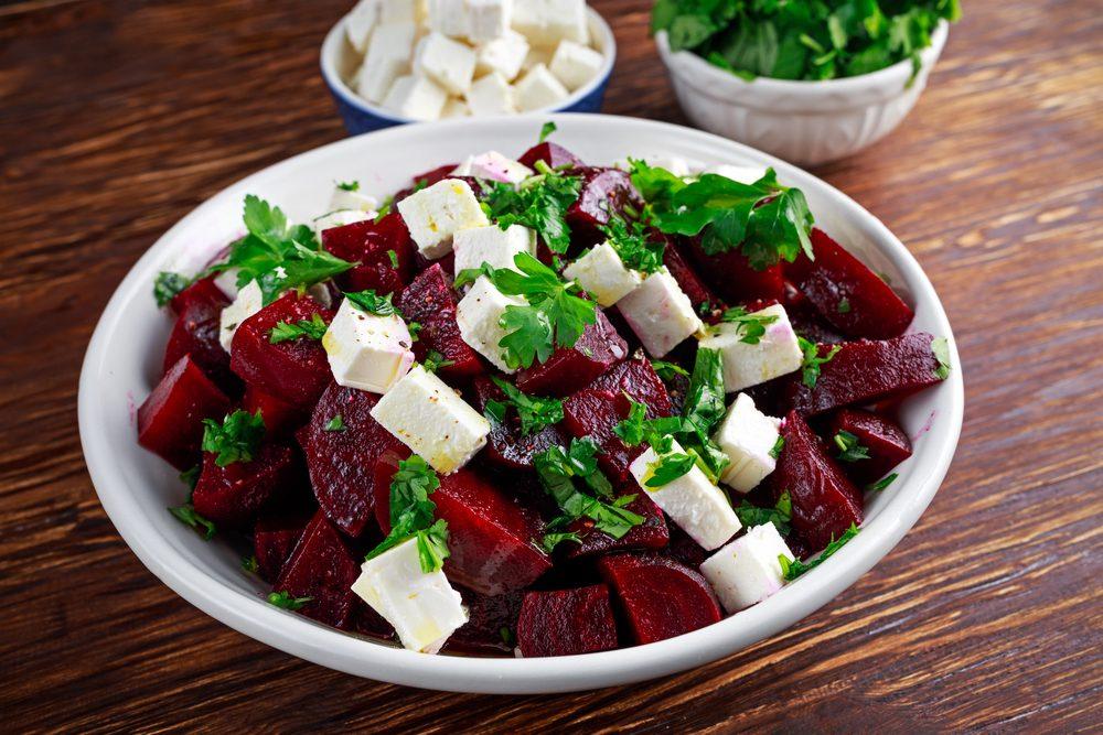 Easy Recipe: Marinated Beet and Feta Salad Recipe