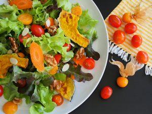 Carrot and Almond Salad with Raspberry Vinaigrette