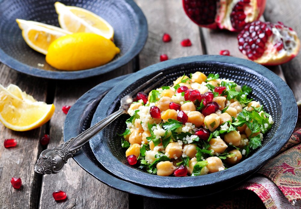 Middle Eastern Lentil Salad