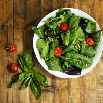 Tomato-Basil Salad with Chunky Tomato Vinaigrette