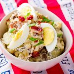 Potato, Egg and Bacon Salad