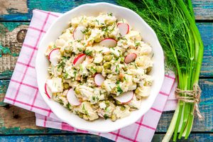Potato and Horseradish Salad