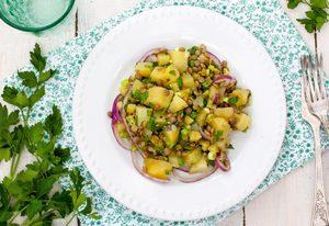 Potato and Lentil Salad