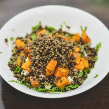 Pumpkin and Lentil Salad