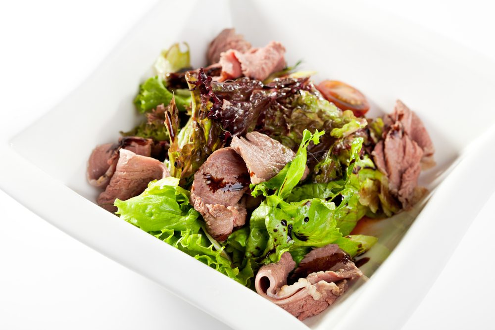 Duck Salad with Buckwheat