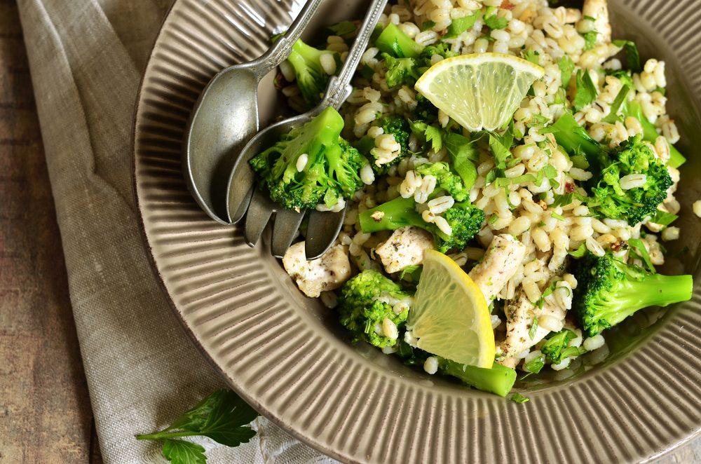 Vegetable Risoni Salad