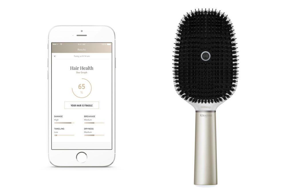 Kerastase Hair Brush Powered by Withings,
