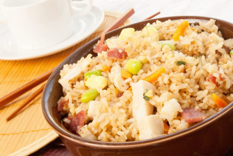 stir-Fried_rice_chicken