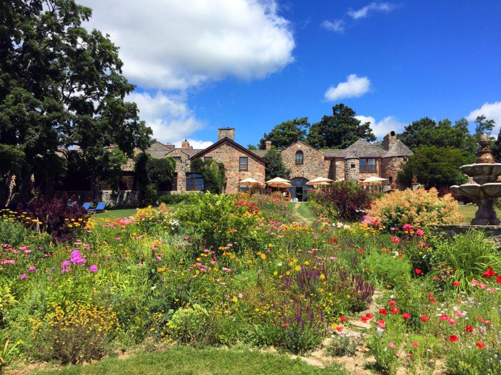 Ste. Anne's Spa garden
