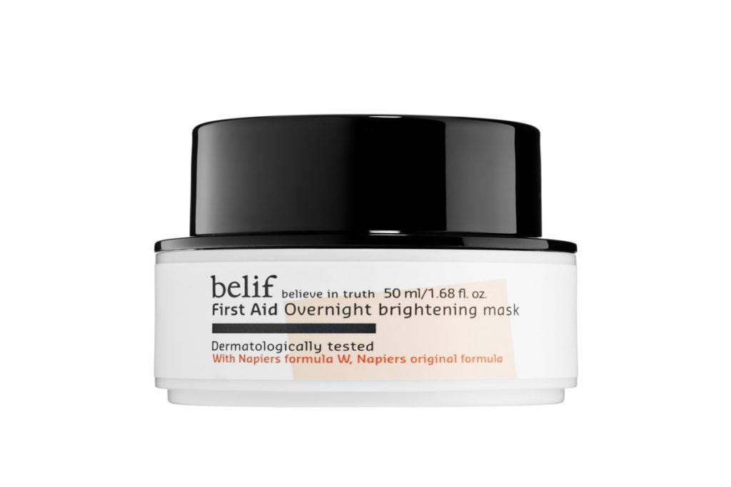 Belif First Aid Overnight Brightening Mask