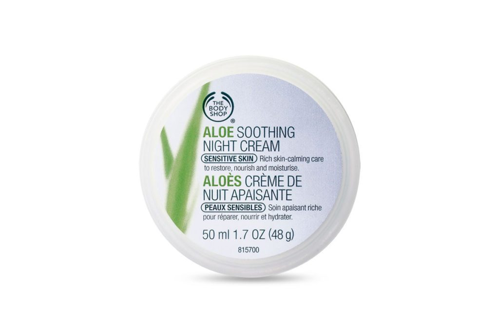 Body Shop Aloe Soothing Night Cream