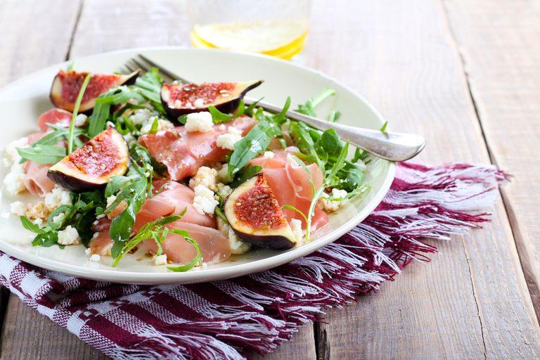 fig and prosciutto salad | citrus recipes