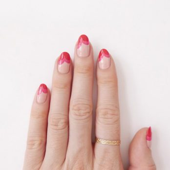 Nail Art How-To: The Heart Shaped Mani